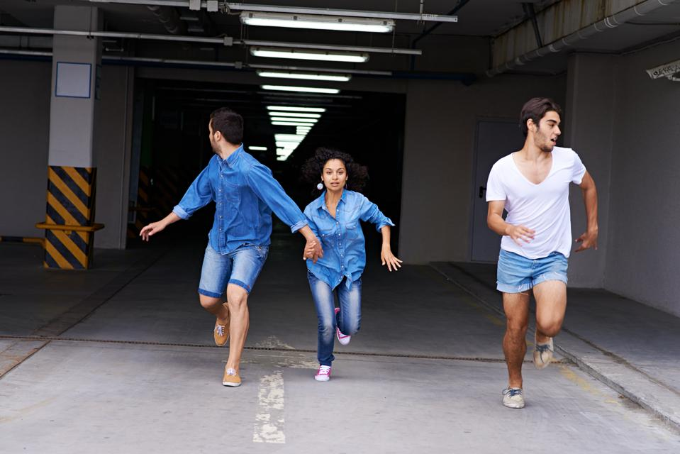 Running away from conversations about money