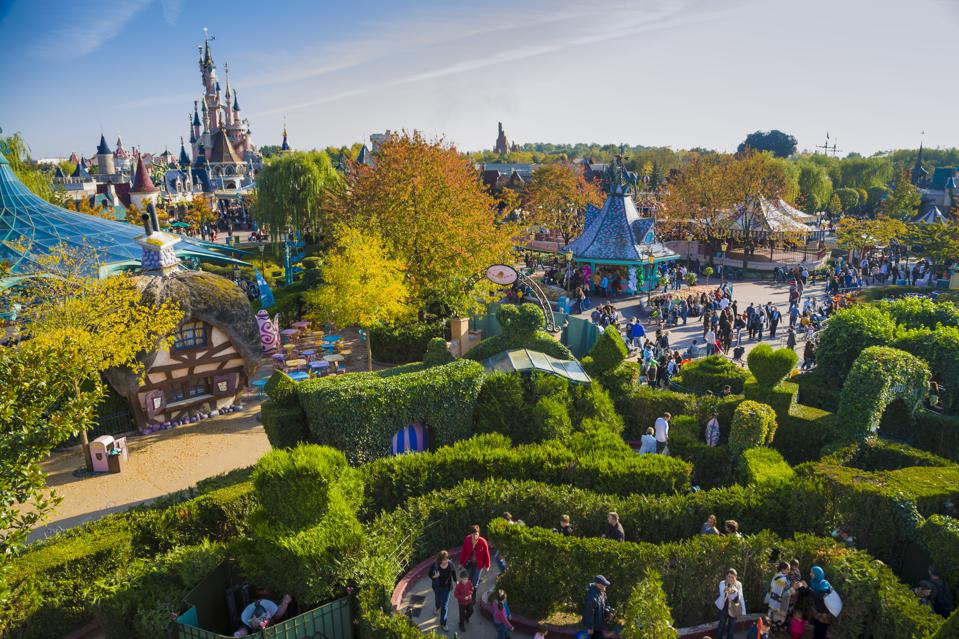 The whimsical world of Disneyland Paris is home to some suitably-obscure professions (Pawel Libera/LightRocket via Getty Images)