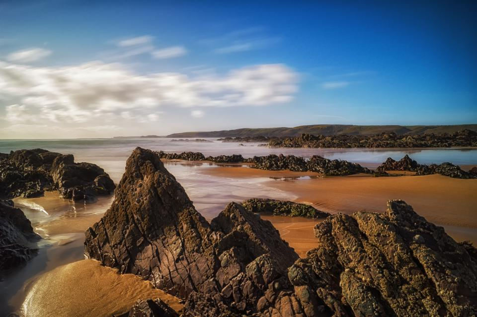 Freshwater West in Wales