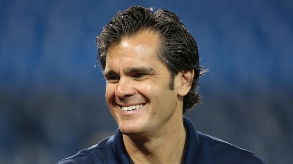 Broadcaster Chip Caray of the Atlanta Braves