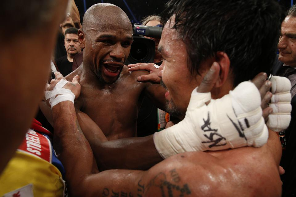 BOX-US-PACQUIAO-MAYWEATHER