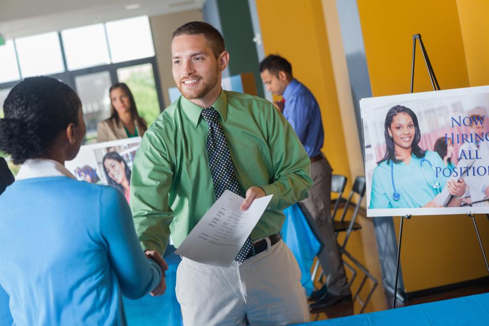Get noticed by recruiters and stand out at a job fair