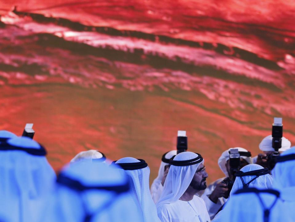 Dates In Space: UAE Floats Idea Of Planting Palm Trees On Mars