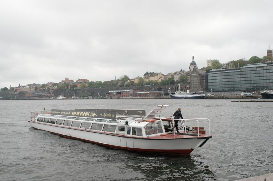 Stockholm Hop On Hop Off Water Taxi
