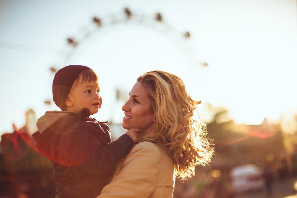 In the amusement park
