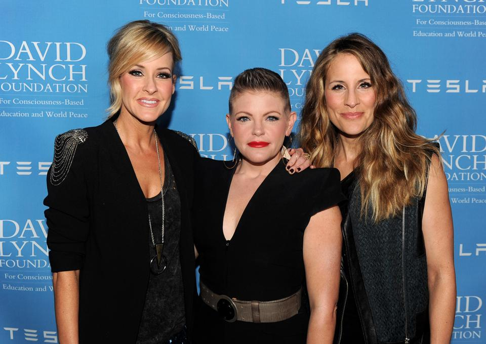 Country trio the Dixie Chicks have changed its band name To The Chicks