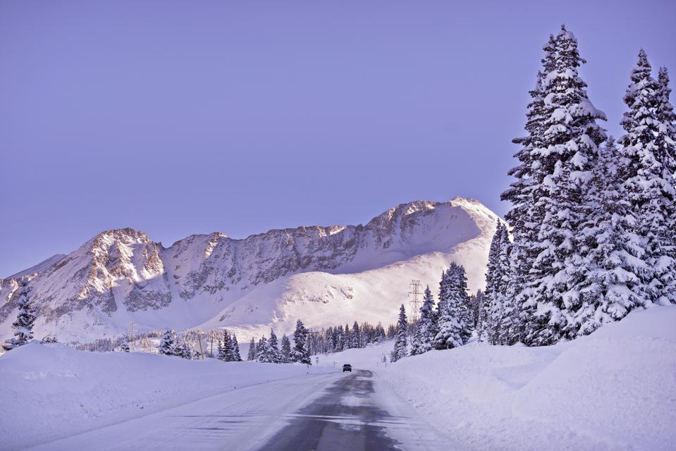 Colorado Winter Highway