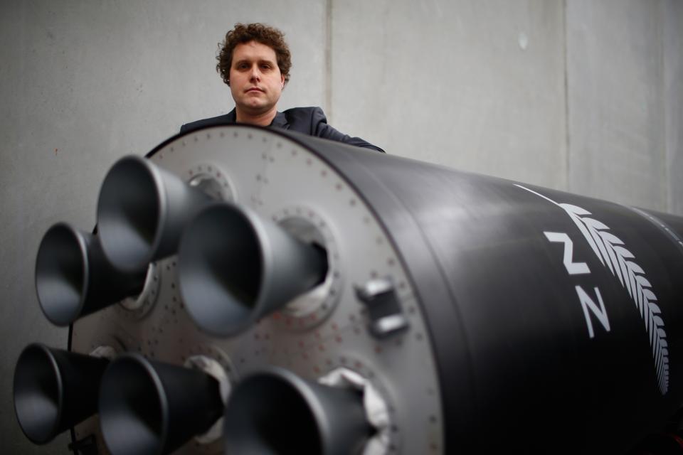 Rocket Lab CEO Peter Beck