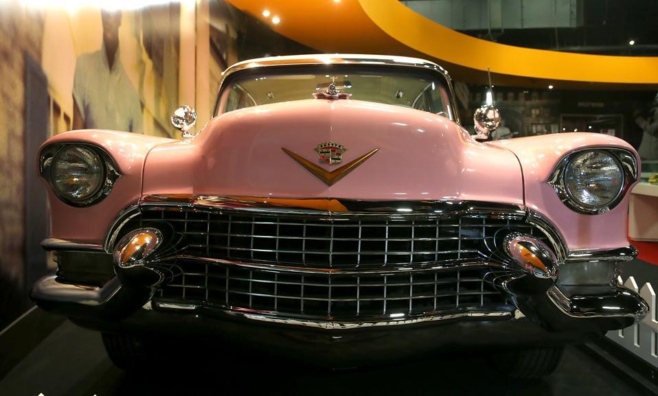 Celebrity News: Elvis Presley's Pink Cadillac