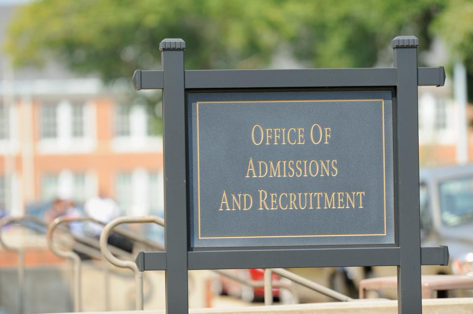 Office of admissions and recruitment