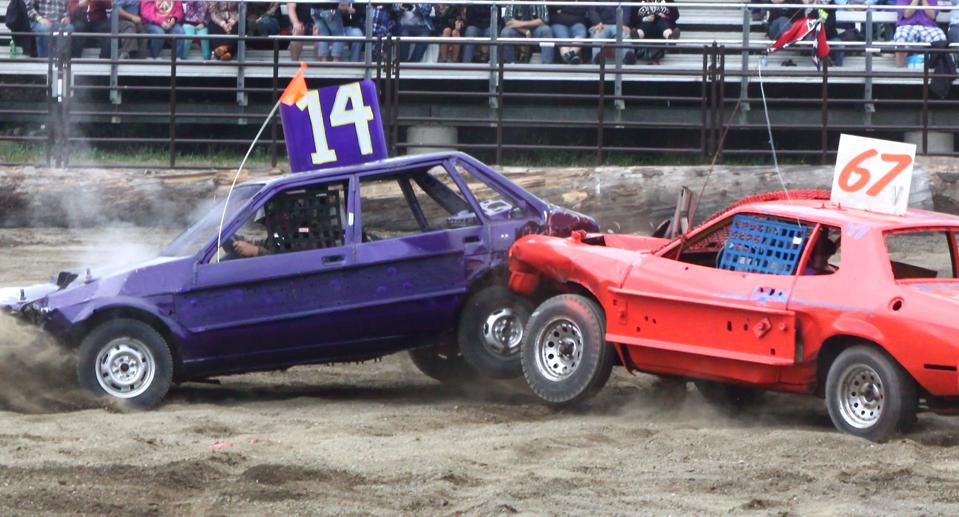 Demolition derbies could ultimately involve AI self-driving cars.