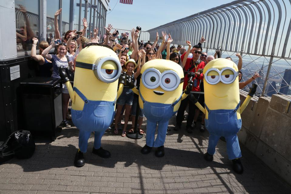 The Minions Visit The Empire State Building