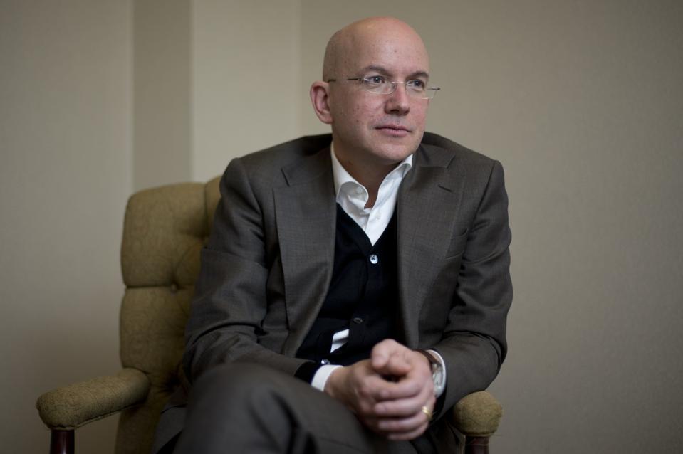 Porträt von Yves Daccord, Leiter des Internationalen Roten Kreuzes ...