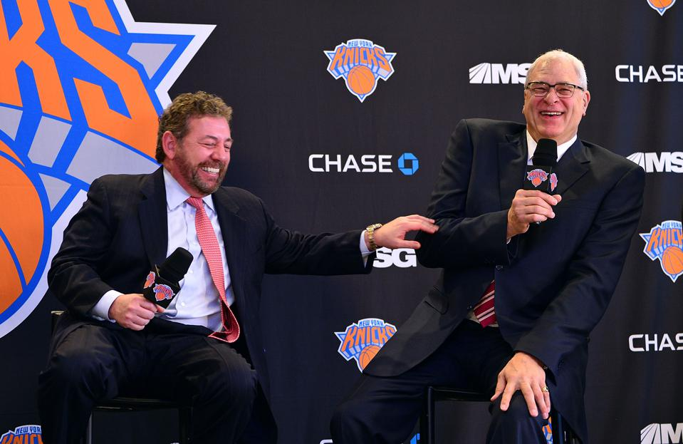 New York Knicks Announce Phil Jackson As Team President