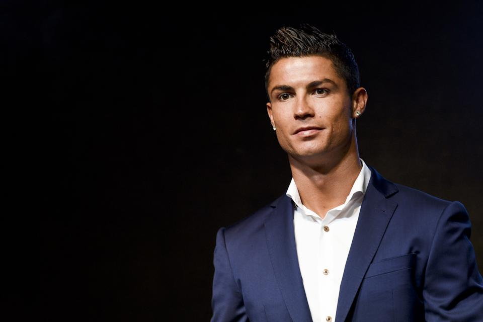 Cristiano Ronaldo Attends MTG Commercial Activity In Shanghai