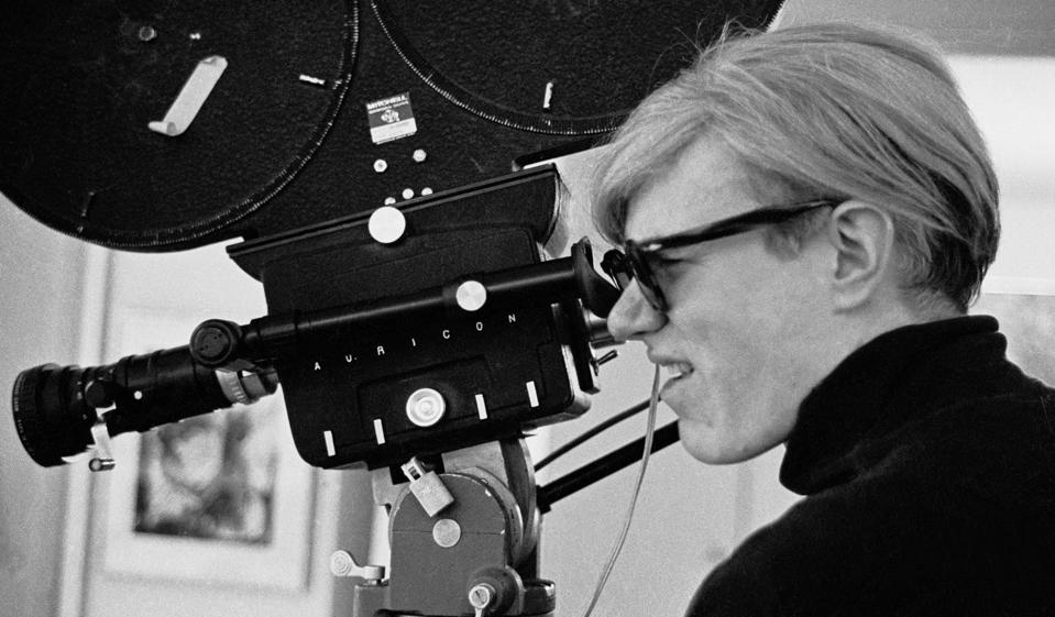 Andy Warhol Filming