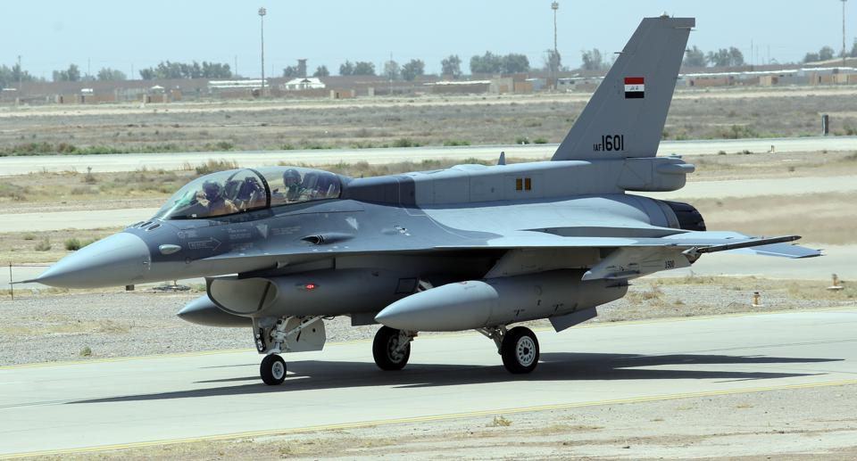 Iraq gets military weapons and aircrafts from US