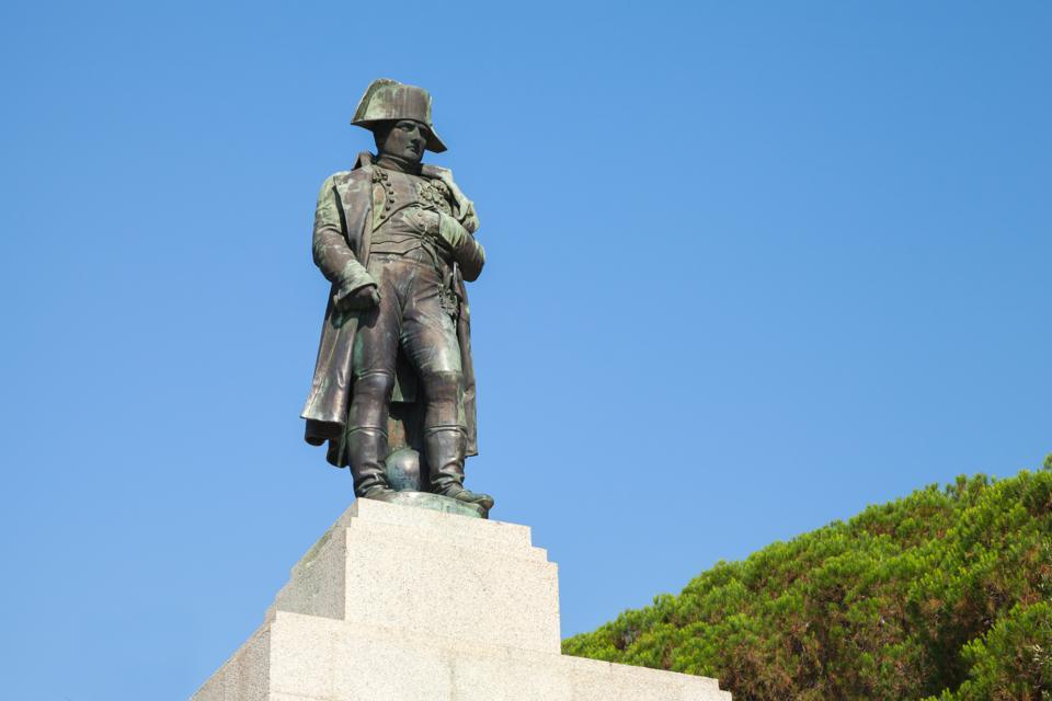 Statue of Napoleon Bonaparte, Ajaccio, France