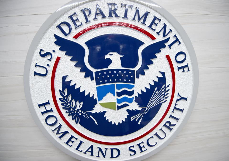 The badge of the U.S. Department of Homeland Security