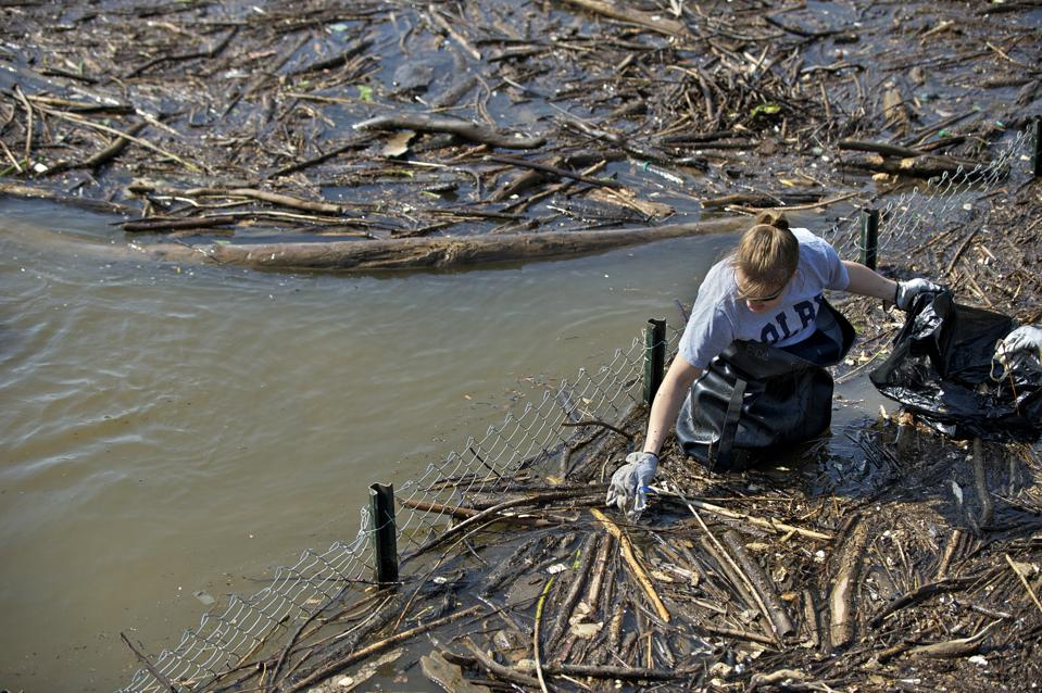 Earth Conservation Corps, Earth Day Clean-up, Anacostia River