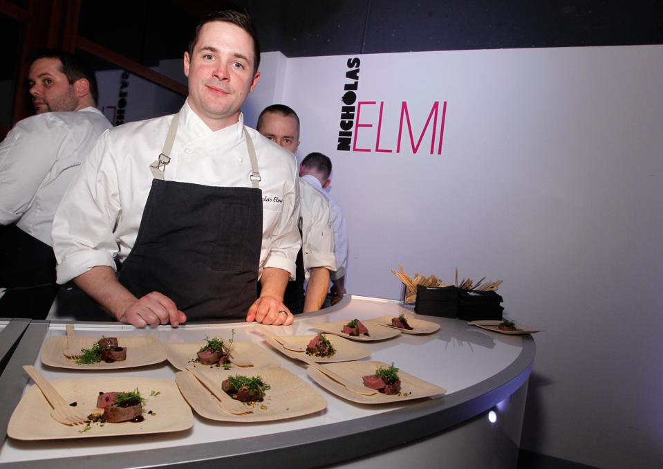 2014 FOOD & WINE Best New Chefs Event - Inside