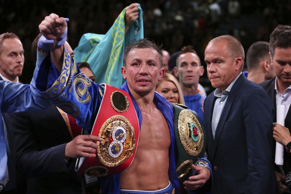 Golovkin Derevyanchenko Boxing