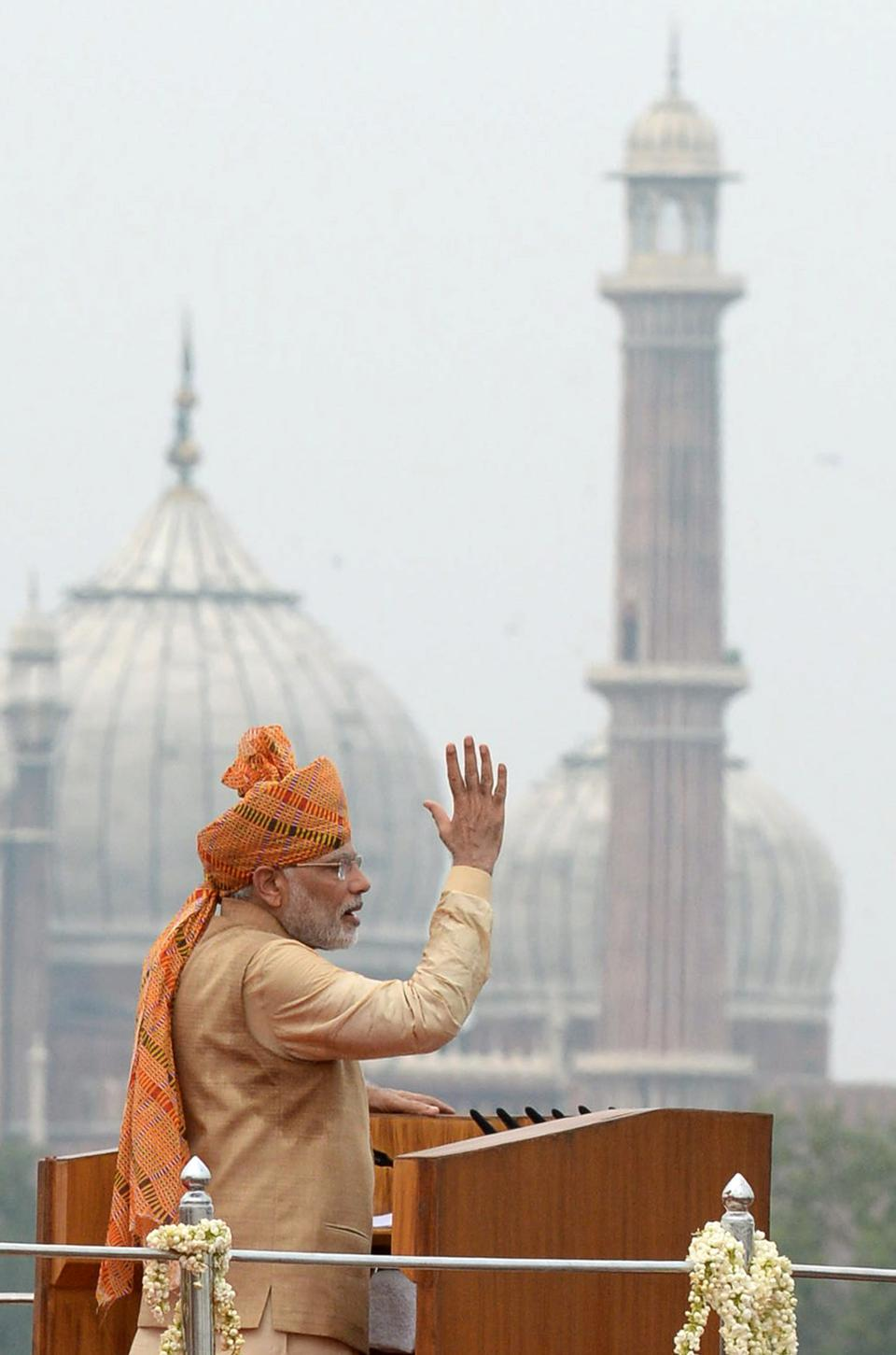 Indian Prime Minister Narendra Modi has made fighting corruption key to his platform. (PRAKASH SINGH/AFP/Getty Images)