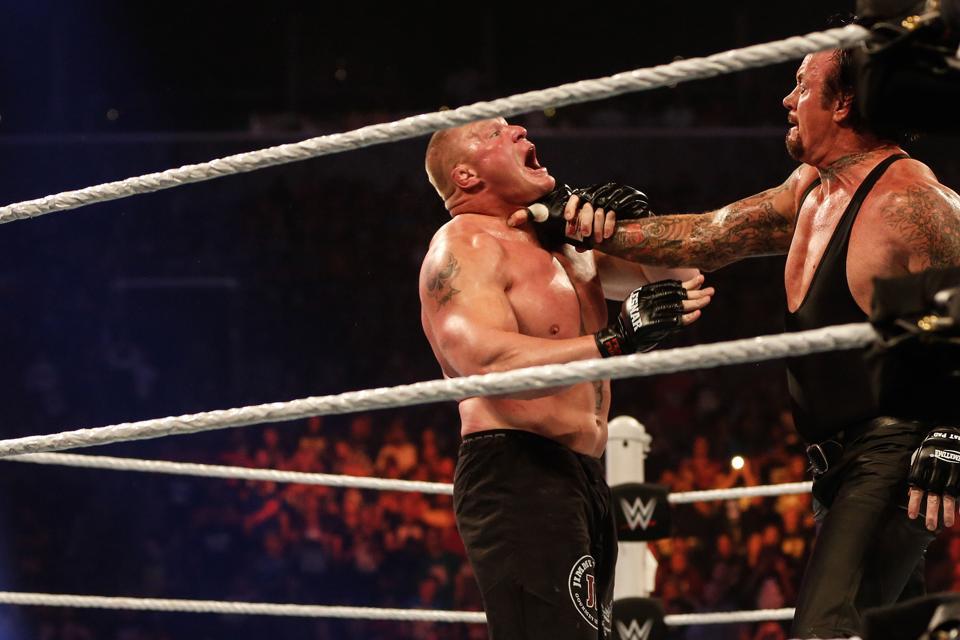 WWE SummerSlam 2015: The Undertaker vs. Brock Lesnar