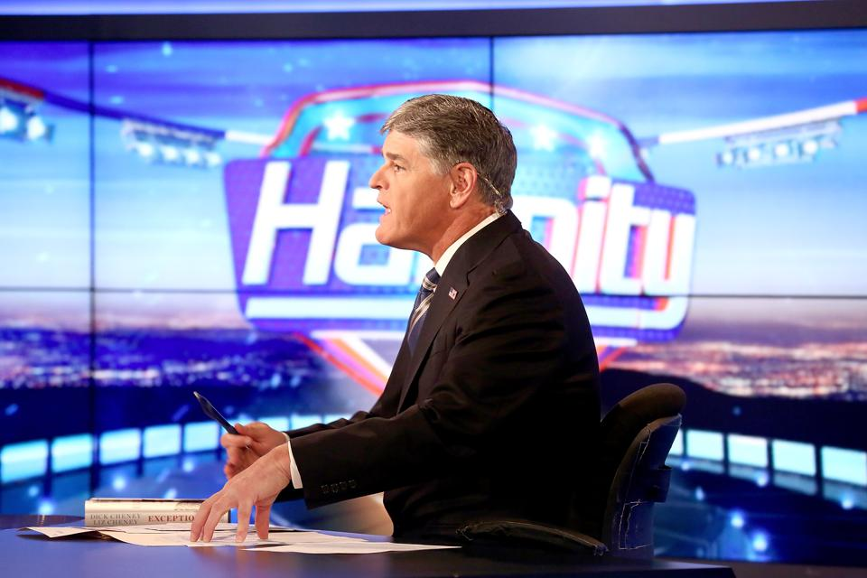 Former Vice President Dick Cheney And His Daughter Liz Cheney Visit FOX News' ″Hannity″