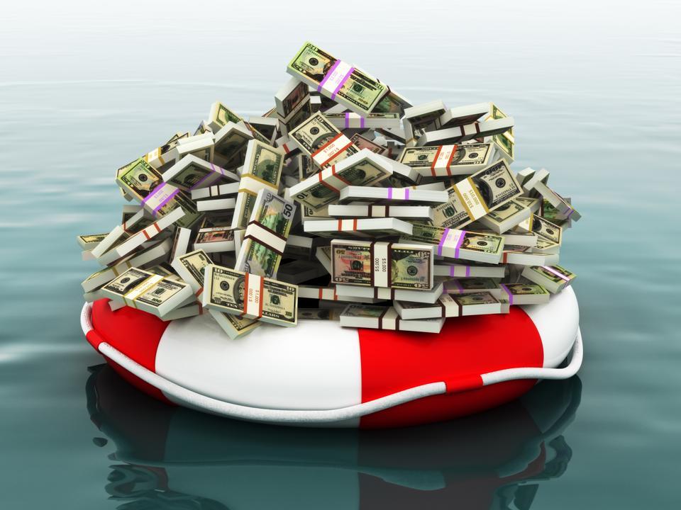 Safe money concept
