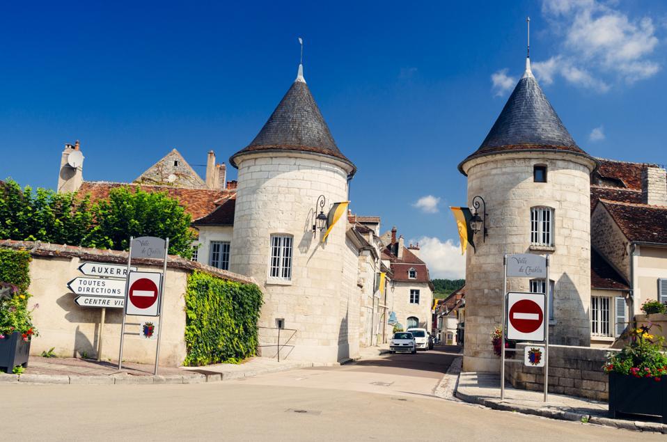 Chablis village, Burgundy, France