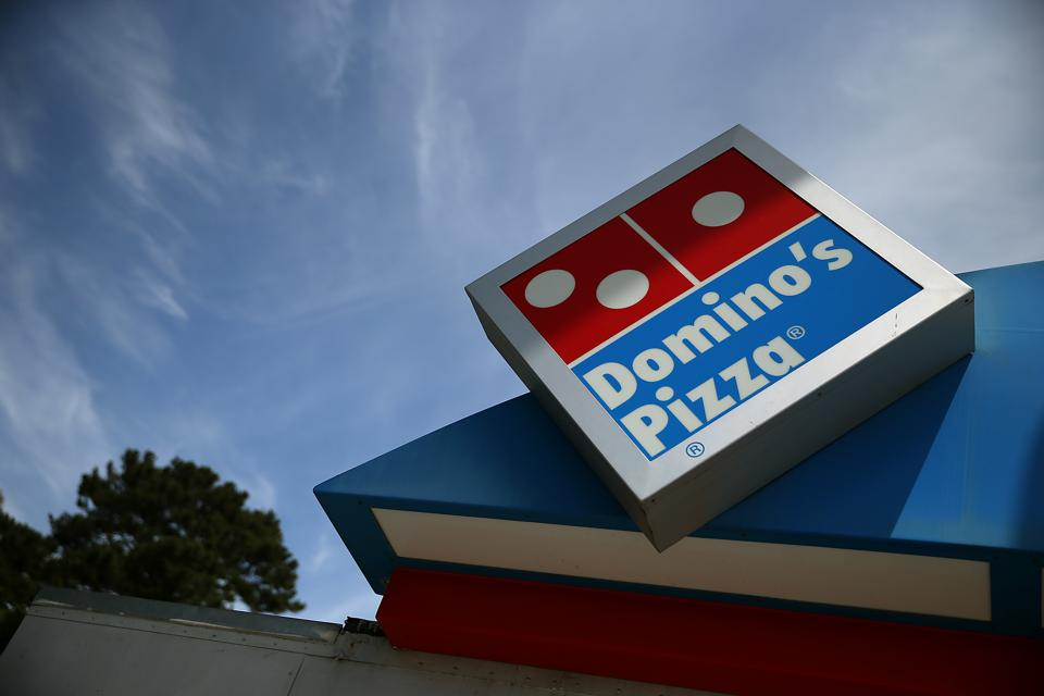 Domino's Pizza on the Forbes Innovative Growth Companies List