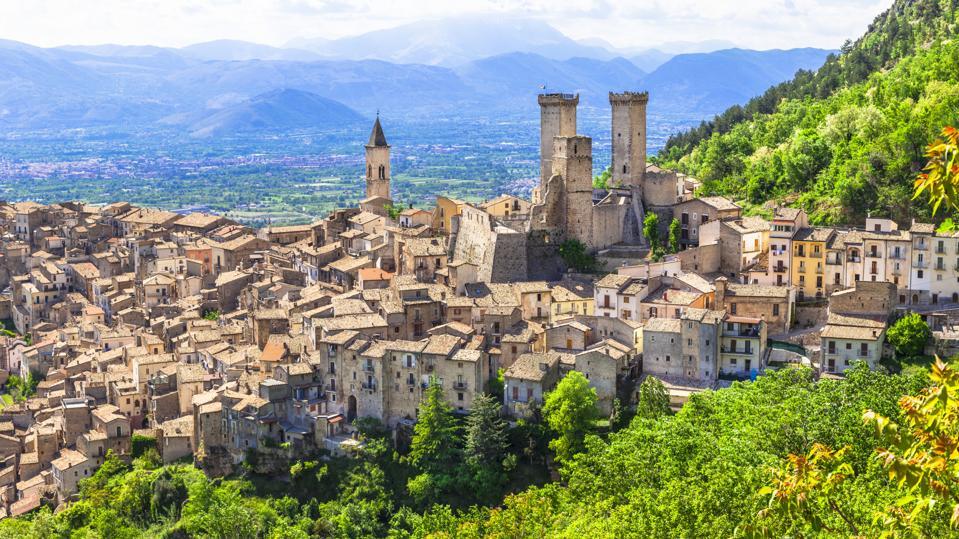 Pacentro, Abruzzo, Italy.