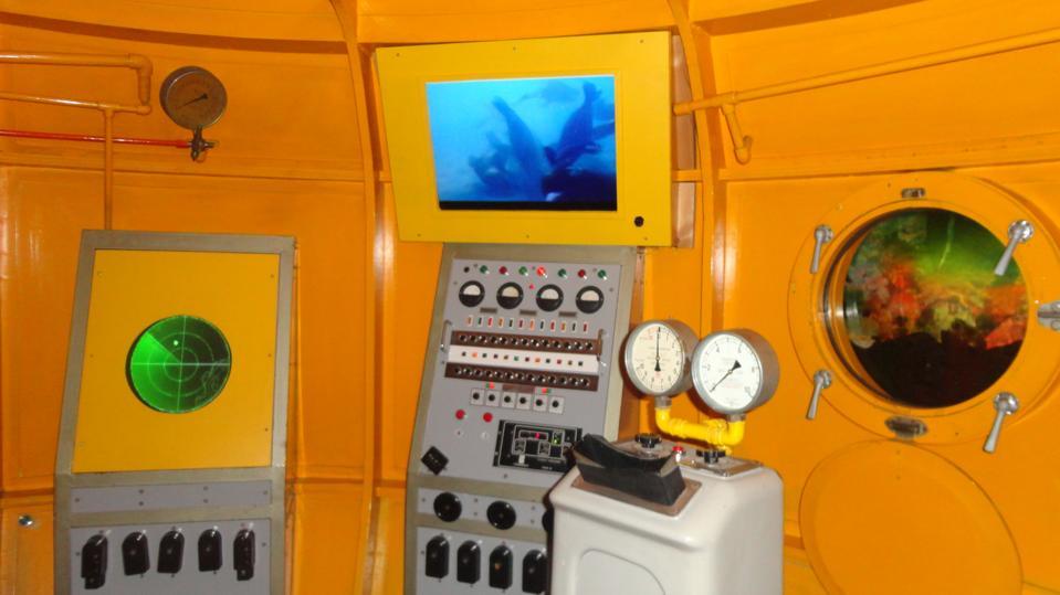Beautiful indoor Yellow Submarine