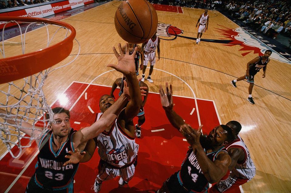 Vancouver Grizzlies v Houston Rockets
