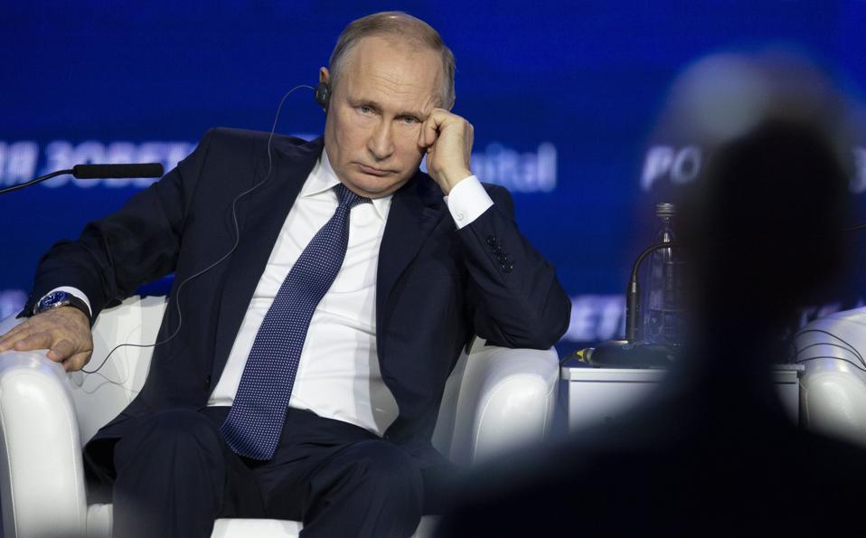 Russia Ukraine Putin