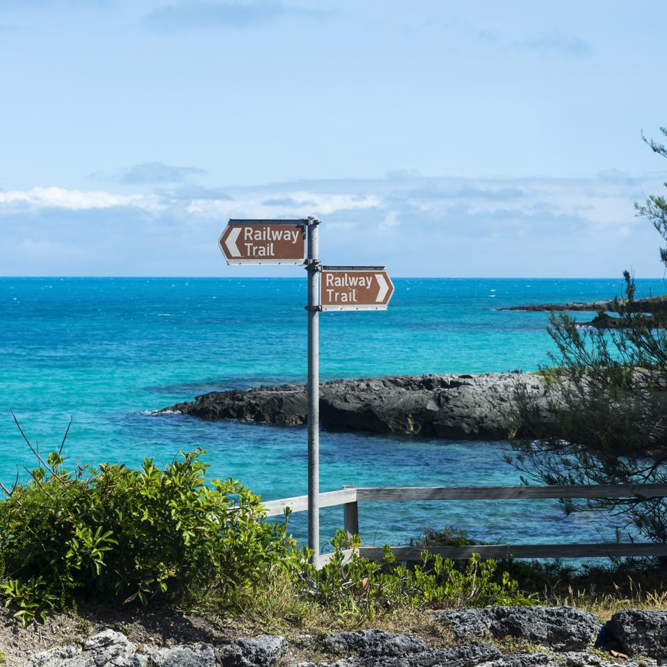 Railway Trail in Bermuda