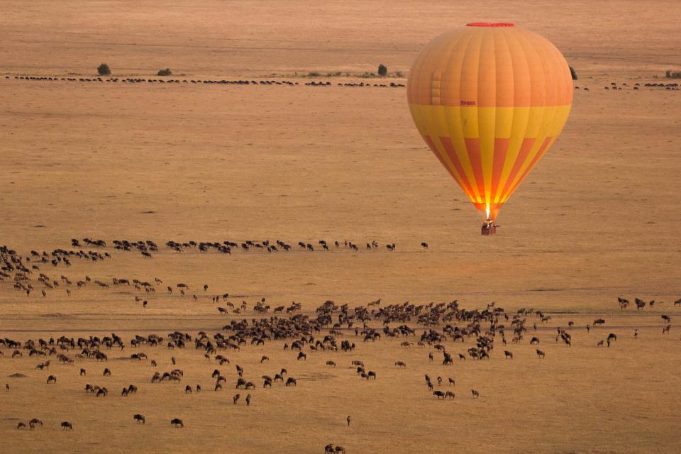 Hot Air Balloon in Masai Mara