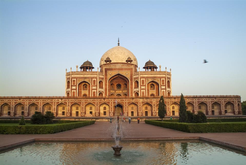 Humayun's Tomb, the tomb of the Mughal Emperor Humayun, in...