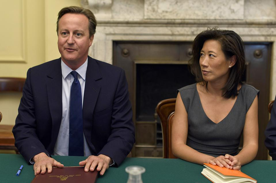 David Cameron Hosts Members Of His Business Advisory Group
