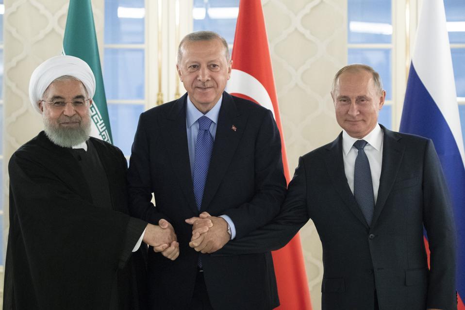 APTOPIX Turkey Russia Iran
