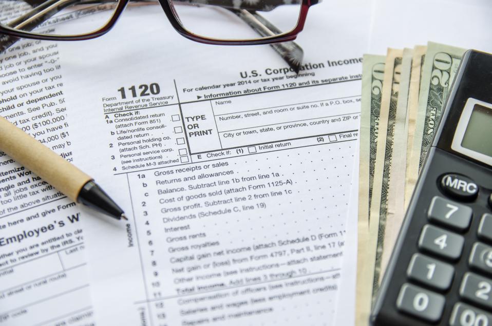 Form 1120 Corporate Tax Return
