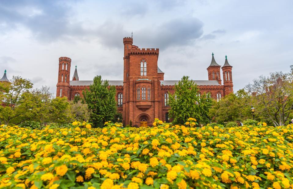 Smithsonian Institution Arts & Industries Building - Summer in Washington, DC.