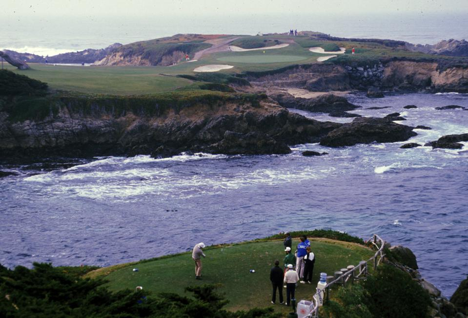 Cypress Point Still Has Presence Unofficially At Golf S Pebble Beach Pro Am