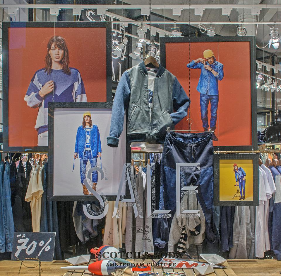 New York Fashion Window Displays