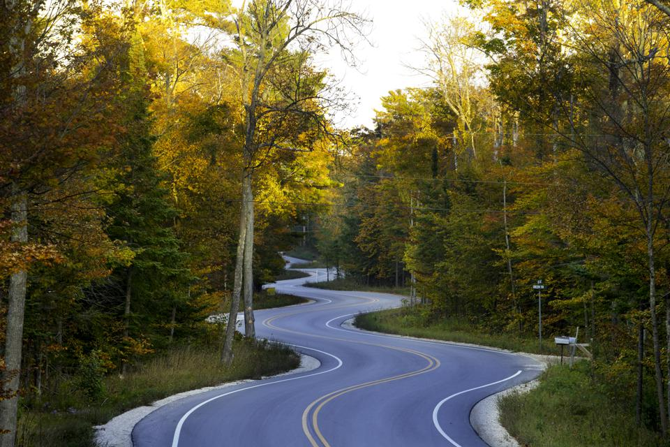 Lifes Journeyfull of curves on this long winding road.