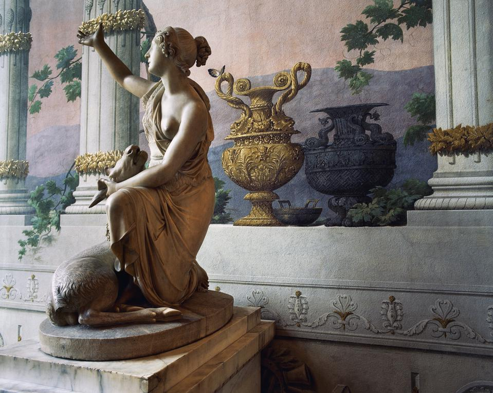 Statue of Diana...