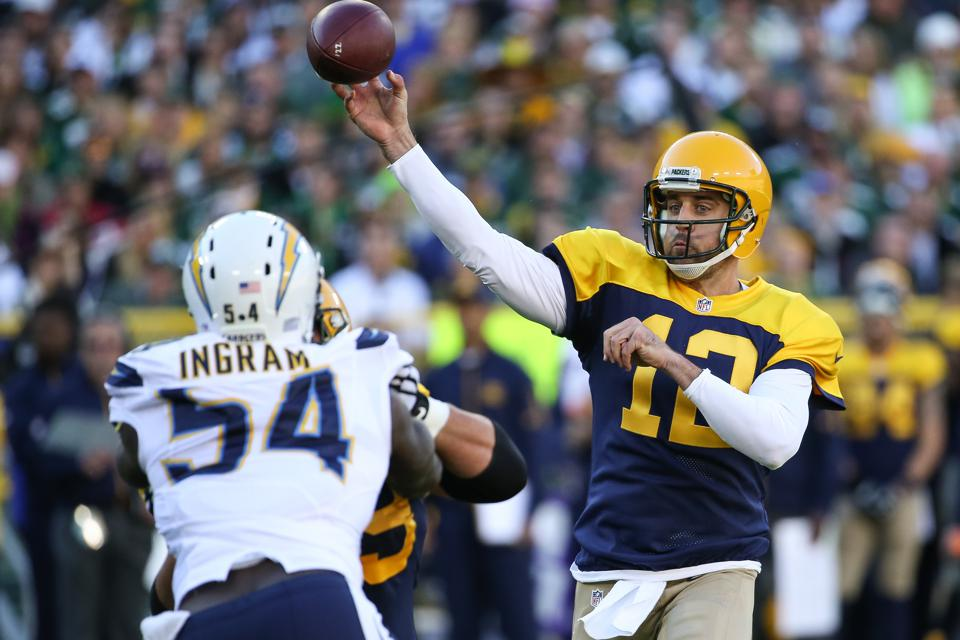 San Diego Chargers v Green Bay Packers