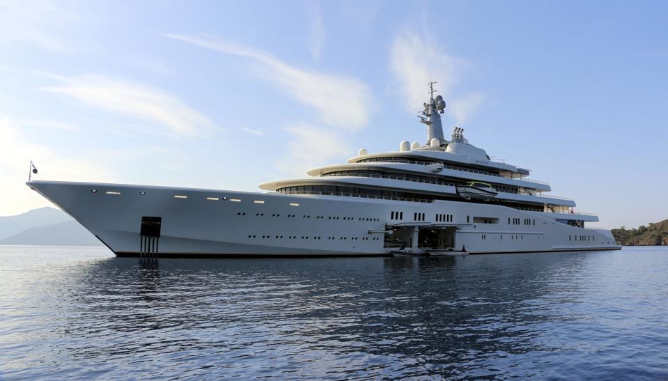 Roman Abramovich's yacht ″Eclipse″