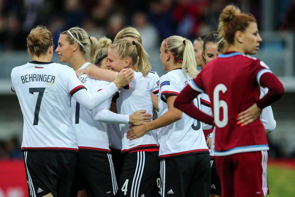 Germany v Russia  - UEFA Women's Euro 2017 Qualifier